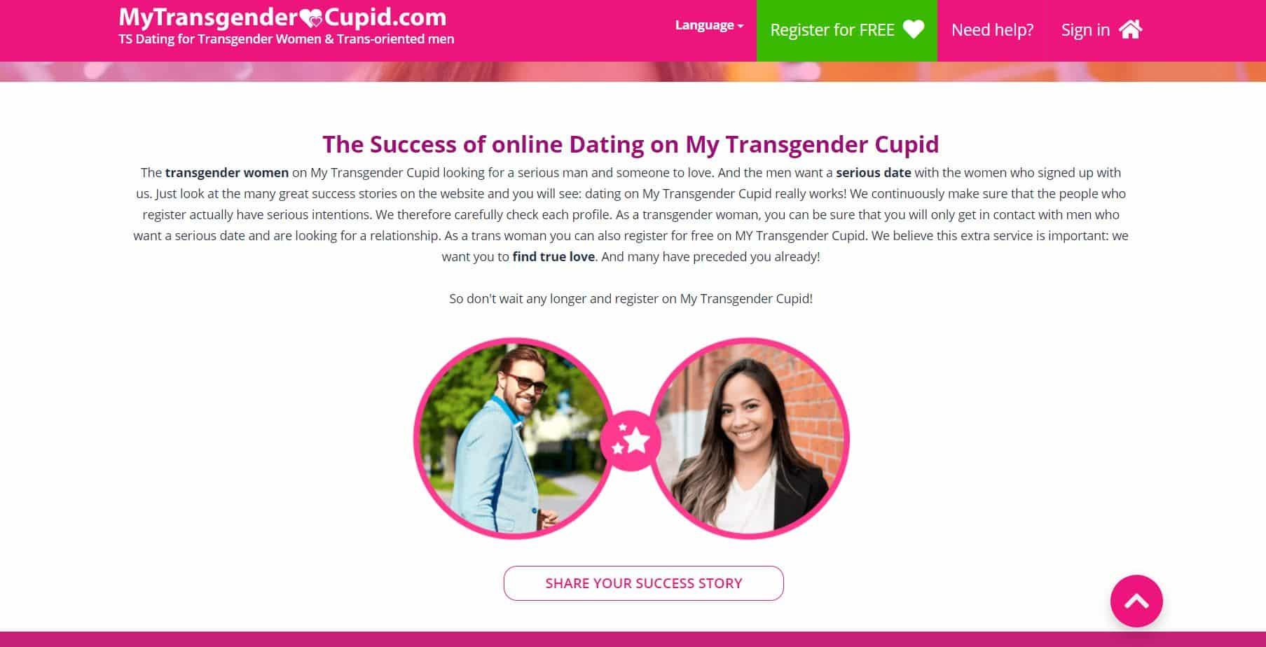 My Transgender Cupid histoire
